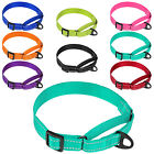 Внешний вид - Reflective Dog Collars Martingale No Buckle Nylon Dog Collar Small Medium Large