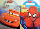 Disney Pixar Cars 2 or Marvel Spiderman Carry Along Activity Book Free Uk Post