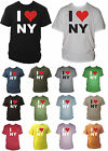 I Heart / Love NY / New York Mens Tshirt Souvinir Unisex Gift Sizes Small - XXL