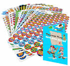 Pick n Mix School Reward Stickers Stars, Smiles etc & Free Pirate Reward Chart