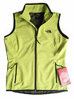 THE NORTH FACE Women Nevado Vest Bright Green Yellow L Light Weight Full Zip NEW
