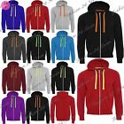 Mens Fleece Casual Zipup Zipper Hooded Hoodie Sweatshirt Jacket Jumper Top Hoody