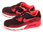 Nike Wmns Air Max 90 Classic 2014 Deep Burgundy/Hyper Punch-Team Red 325213-610
