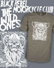 Black Rebel Motorcycle Club - BRMC - Wild One Vintage Shirt Scoop V-Neck Raglan