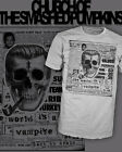 Smashing Pumpkins T-Shirt - World is a Vampire - Bob Dobbs - Scoop V-Neck Raglan