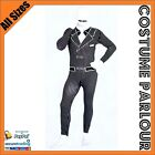 New Gangster Tuxedo Zentai Second Skin Suit Fancy Dress Costume All Sizes