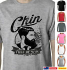 Funny T-Shirts Beard Hipster Chin full of win Moustache Men's cool Aussie Store