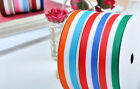 Wholesale 100Yards/roll Grosgrain Ribbon Printed Stripe/Flag For Cloth Shoes