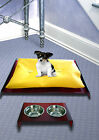Luxury Pet Bed & Dining Table Red Set Pooch Dog Cat Puppies Kitten AUS MADE