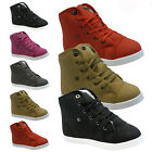 GIRLS INFANT FUR LINED WARM WINTER BOOTS HIGH TOP ANKLE SHOES TRAINERS PLIMSOLLS