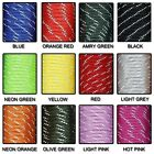 100FT Reflective Material 7 Core  Reflective Parachute Cord Lanyard Paracord NEW