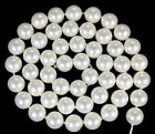 """10mm White AAA South Ocean Shell Pearls Loose Beads 15"""""""