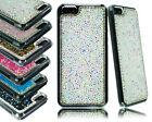 NEW LUXURY DIAMOND BLING HARD BACK CASE COVER FOR MOBILE PHONE MODELS MF