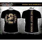Down2Scrap Black MMA Global T Shirt S M L mens men XL new cross biker pro D2S