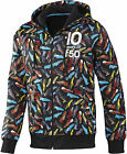 BNWT Adidas F50 Football Hoody Graphic Jacket Black OR White S/M/XL