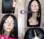 100% Brizilian remay human hair Italy yaki  full/front lace wig 130% density