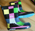 Quiksilver boy girl wellington boots shoes 11-11.5, 13-13.5 UK, 30, 32 EU New