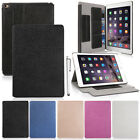 For Apple iPad Air 2 Smart Cover Stand Slim Magnetic PU Leather Sleep/Wake Case