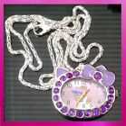 Hello Kitty Necklace Watches, Various Designs for Girls / Women  Birthday Gift