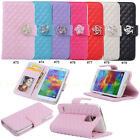 Diamond Magnetic PU Leather Flip Stand Wallet Case For Samsung Galaxy S5 V i9600