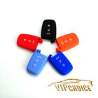 Key Case Cover Silicone FOB Skin For Hyundai Genesis Tucson Elantra 3 Buttons