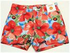 Gymboree Burst Of Spring Watercolor Floral Print Shorts Size 4 5 New NWT
