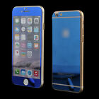 Tempered Glass Mirror Front+ Back Screen Protector Full Body For iPhone 6 6 Plus