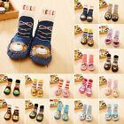 Baby Boy Girl Socks Anti Slip Newborn Animal Cartoon Shoes Slippers Boots