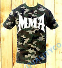 Men's MMA Camo T Shirt Bodybuilding Beast Fitness Workout Muscle Gym Tee image
