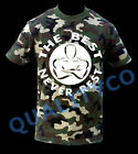 Men's The Best Never Rest Camo T Shirt Workout Muscle Army Military Gym Tee