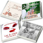 350 Personalised Chocolate Wedding Party Favours, Professional Quality FREE POST