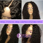"Spanish Curly lace wig 100% Brazilian remy human hair lace wigs 8""-20"""