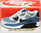 2015 DS Nike Air Max 90 Essential Grey Black Navy Slate Blue 537384-042 US 8~12