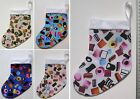 SMALL CHRISTMAS STOCKING - Liquorice Allsorts Print *LOADS MORE IN STORE*