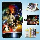 iPhone SE 6 6S 7 8 X Plus 5 5S 5C 4 4S Wallet Case Cover Star Wars W047 $12.99 AUD on eBay