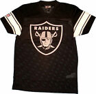 New Era Oakland Raiders Black NFL Supporters Jersey