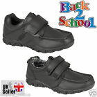 KIDS BOYS GIRLS BACK TO SCHOOL CHILDRENS SMART COMFORTABLE SCHOOL SHOES TRAINERS
