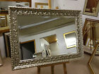 LARGE STUNNING ORNATE SILVER WALL AND OVERMANTLE  MIRRORS-VARIOUS SIZES AVAILBLE