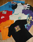 Quiksilver boy t-shirt top  7-8, 9-10, 13-14 y BNWT cotton