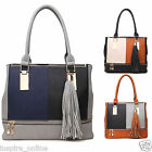BRAND NEW LADIES WOMENS FASHION DESIGNER CELEBRITY TOTE SHOULDER SATCHEL HANDBAG