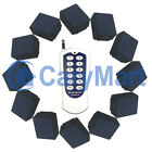 10A DC 6/9/12/24V RF Remote Controller-One Transmitter Controls 12 Receivers