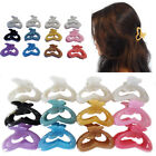 Butterfly Claw Clip Hair Styling Clamps Grip Clips Plastic Claws Jaw Updo Pins