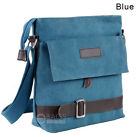Men's Canvas Crossbody Hiking Military Messenger Sling Shoulder Bag Satchel New