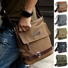 Men\'s Canvas Crossbody Hiking Military Messenger Sling Shoulder Bag Satchel New