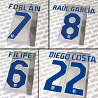 Atletico Madrid 2010-11-12 home, LFP official Stilscreen name set