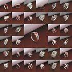 Luxury Party Ring Women's Jewelry S925 Silver SP Ring US size 8