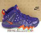 2013 Nike Barkley Posite Max Court Purple Team Orange 555097-581 foamposite Suns