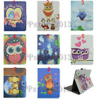Ultrathin Cute Cartoon Kids Animal OWL Leather Case Cover For 9-10.5 Tablet PC