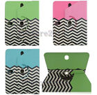 For 9 10.1 10.5 Tablet Hybrid Sea Wave Fold Folio Premium Leather Case Cover