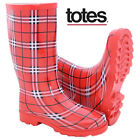Gloss Tartan Print Fashion Wellington Boots Festival School Rain Garden Wellies